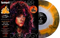 ERIC CARR - Rockology - Orange, Black and Silver Starburst vinyl LP 2019